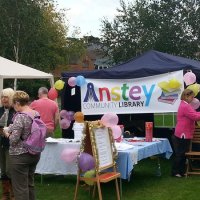 Anstey Community Library at the Summer Gala