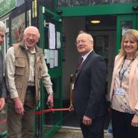 Local Historian Brian Kibble Opens the Anstey Community Library