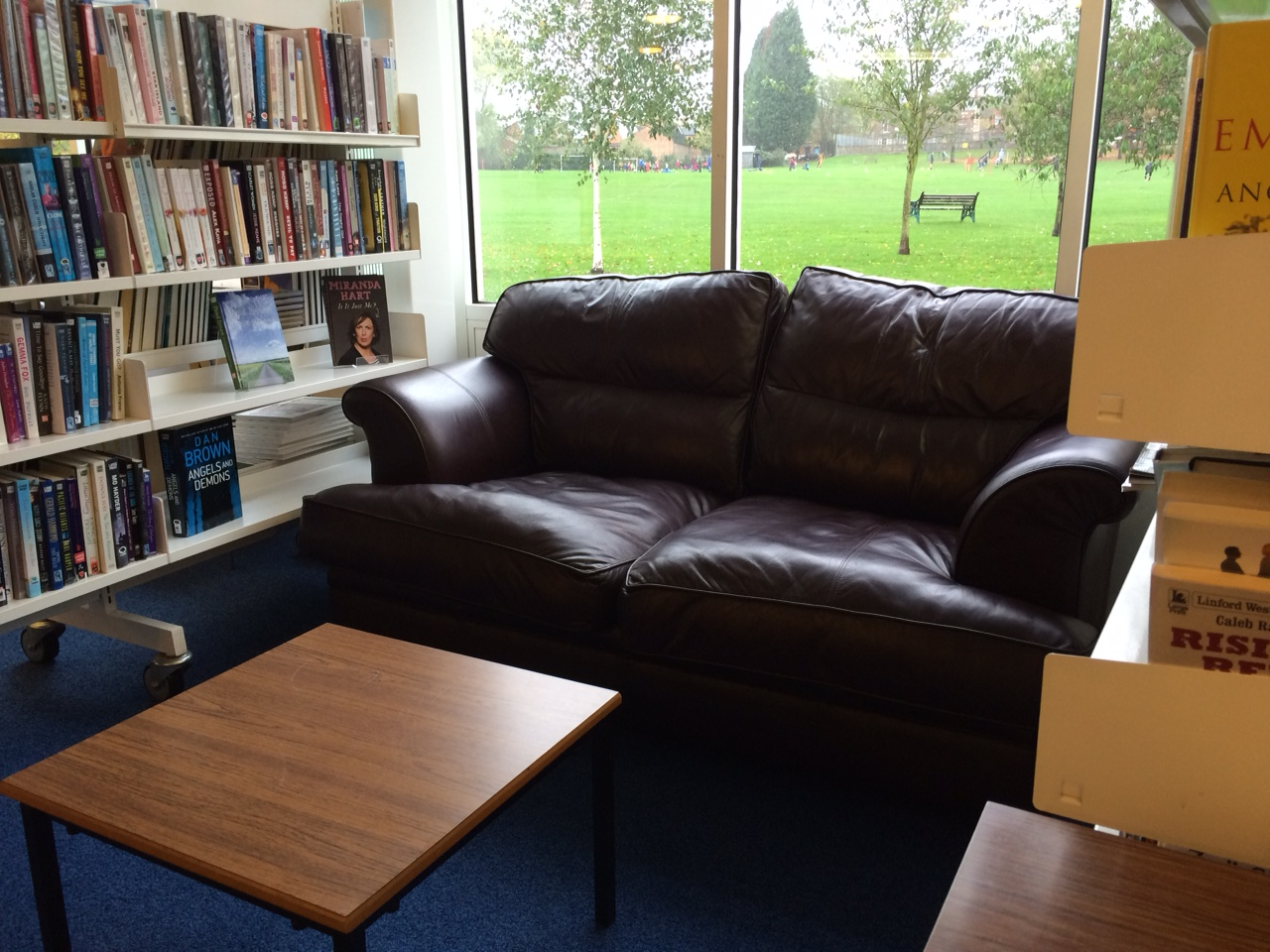 We Now Have A Brilliant Donated Sofa And Comfy Reading Area At Anstey  Community Library.