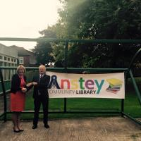 Anstey Community Library Opens