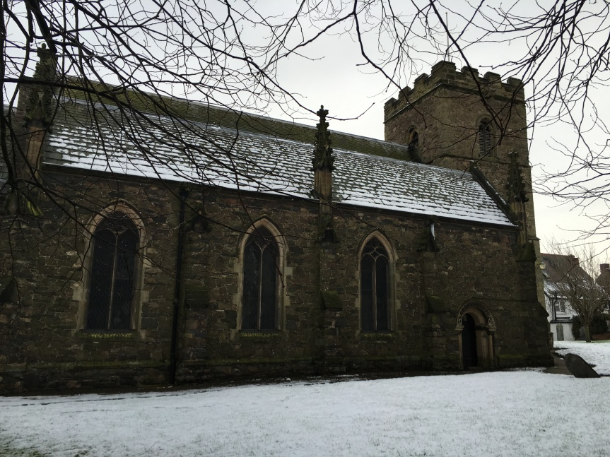 St Mary's Church, Anstey (Photo: Beck Nickolls)