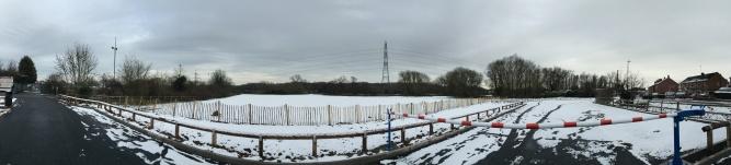 Panoramic, Mitchell's Field (Photo: Andrew Nickolls)