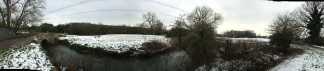 Panoramic of King William's Bridge, Anstey (Photo: Andrew Nickolls)