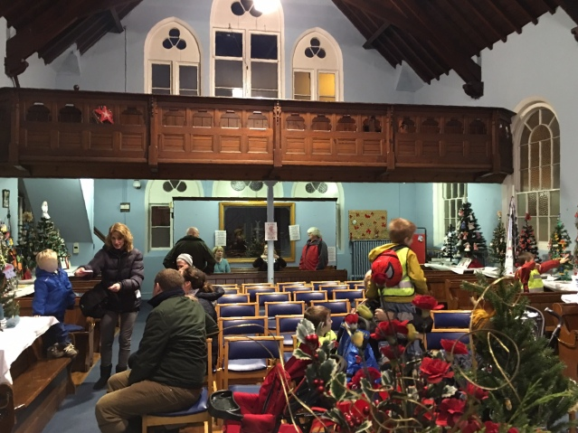 United Reform Church, Christmas Tree Competition