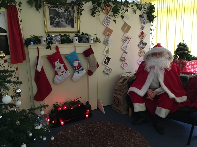 Anstey Community Library Santa's Grotto