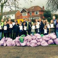 "Anstey residents take part in ""Clean for the Queen"" event"