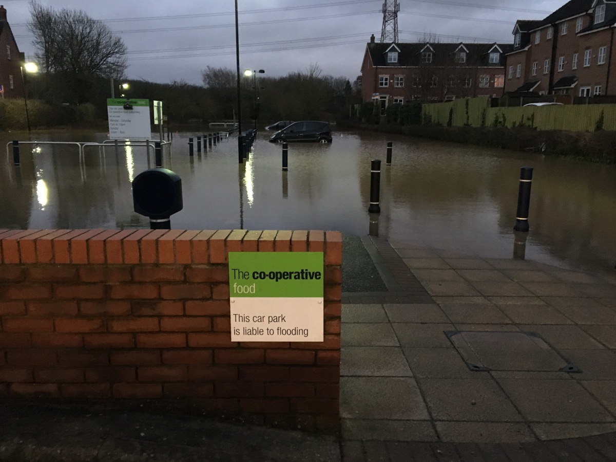 #Flooding Returns to #Anstey