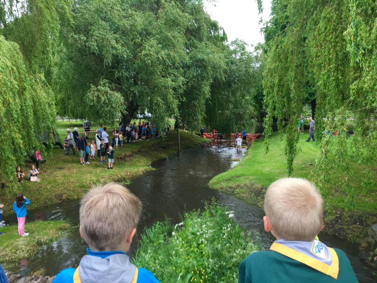 #Anstey #Scouts Annual Duck Race 2016