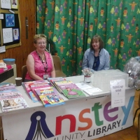 Anstey Library at Woolden Hill Summer Fete