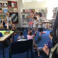 Music Maker at Anstey Library with Julie Pegg