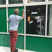 Library gets a new coat of paint