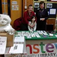 Anstey Library at the Woolden Hill Christmas Bazaar