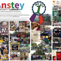 Happy 1st Birthday Anstey Community Library