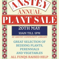 Upcoming Event: Anstey Plant Sale
