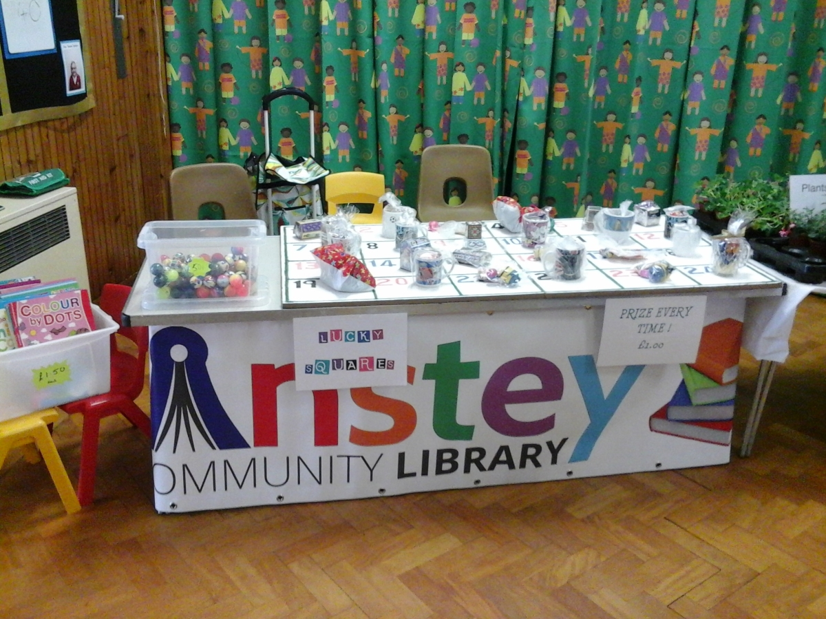 Anstey Library at Woolden Hill Summer Fair