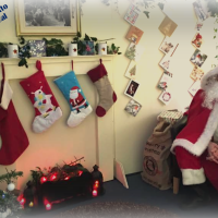 Santa Returns to Anstey Library on 8th December for Grotto Day 2018!