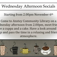New! Wednesday Afternoon Socials