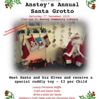 Anstey Annual Santa Grotto - Sat 7th Dec 2019